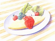 Beautiful Colored Pencil Drawings of Japanese Food (Vol.01)50 pics